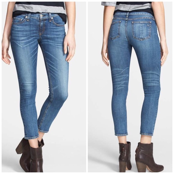 rag & bone Denim - Rag & Bone Capri skinny jeans in Sonoma